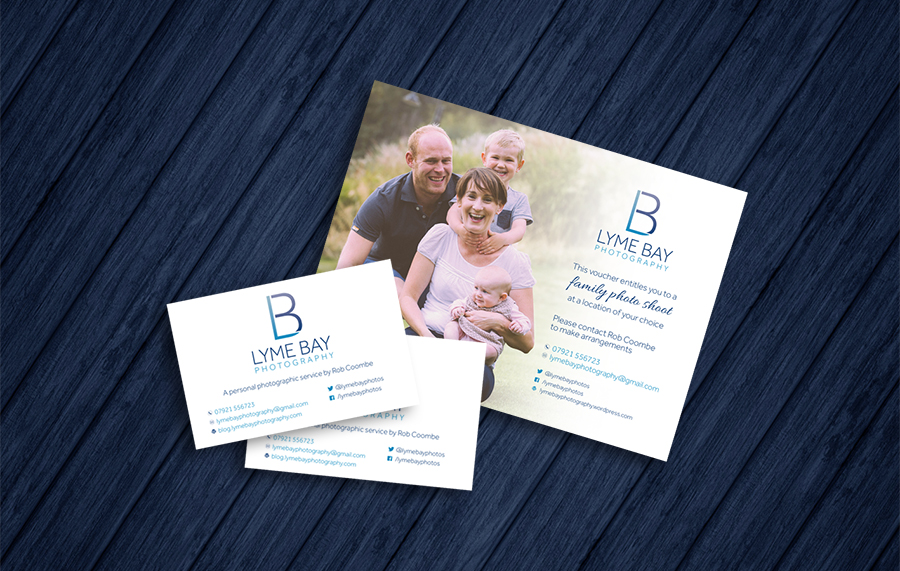 Lyme Bay Photography branding